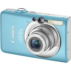 Compactcamera Canon Ixus 95 IS Blauw + Lens Canon Zoom Lens 3x IS 35-105 mm f/2.8-4.9