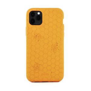 Coque écoresponsable, 100% biodégradable pour iPhone 11 Pro Max - Miel