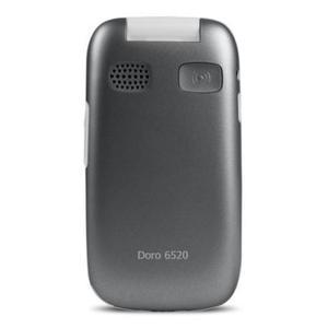 Doro 6520 - Gris/Blanc- Débloqué