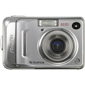 Kompaktkamera Fujifilm FinePix A500 Silber + Objektiv Fujinon Zoom Lens 38-114 mm f/3.3-5.5