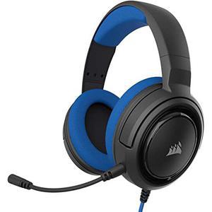 Cascos Gaming Micrófono Corsair HS35 - Negro/Azul