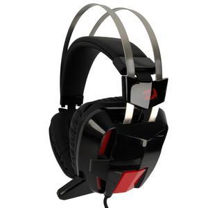Casque Gaming avec Micro Redragon Lagopasmutus 2 (H201-1) - Noir/Rouge