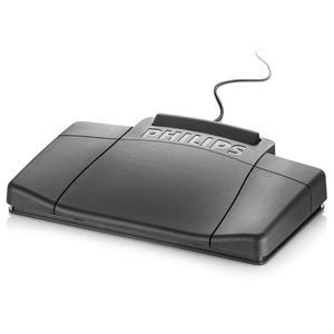 Transcriptie-voetpedaal voor analoge systemen Philips LFH2210 - Zwart