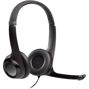 Cascos Gaming Micrófono Logitech H390 - Negro