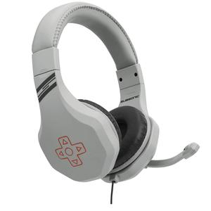 Casque Gaming avec Micro Subsonic Retro Gaming Headset - Blanc/Gris