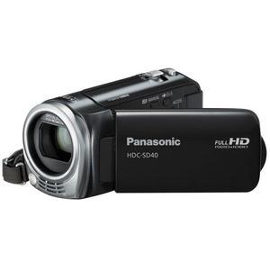 Videocamera Panasonic HDC-SD40 - Zwart