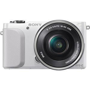 Hybrid Sony Nex 3N Weiß + Sony 16-50 mm f/3-5.5-6