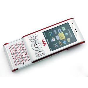 Sony Ericsson W595 - Weiß/Rot- Ohne Vertrag