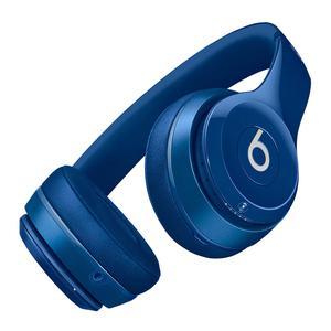 Casque Réducteur de Bruit Bluetooth avec Micro Beats By Dr. Dre Solo2 - Bleu