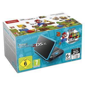 Konsole Nintendo New 2DS XL 4GB + Spiel Super Mario 3D Land - Schwarz/Blau
