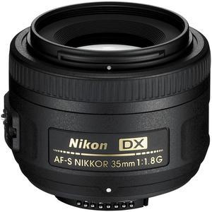 Objetivo Nikon F AF-S Nikkor 35mm f/1.8G DX