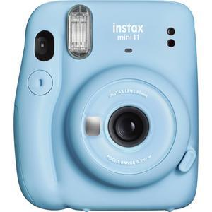 Sofortbildkamera Fujifilm Instax Mini 11 - Blau + Objektiv Instax 60mm f/12.7