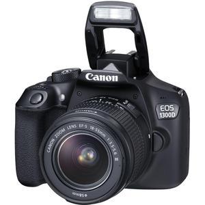 Reflex CANON EOS 1300D - noir + Objectif Canon EF-S 18-55DC