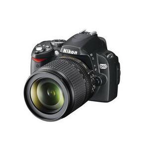 Cámara réflex Nikon D60 - Negro + lente Nikon AF-S DX Nikkor 18-105 mm f/3.5-5.6G ED VR