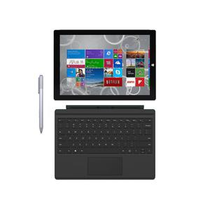 "Microsoft Surface Pro 3 12"" Core i5 1,9 GHz - SSD 128 GB - 4GB QWERTY - Spaans"
