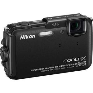 Compact Nikon Coolpix Aw100 - Noir