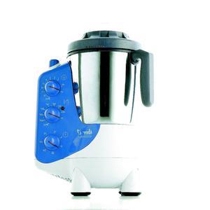 Robot Cuiseur Iber Gourmet - Blanc/Bleu