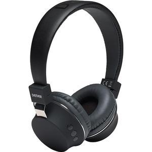 Kopfhörer Bluetooth mit Mikrophon Denver Electronics BTH-205 - Schwarz