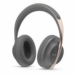 Kopfhörer Rauschunterdrückung Bluetooth mit Mikrophon Bose Headphones 700 - Schwarz/Gold