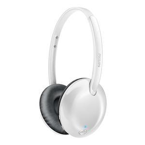 Cascos Bluetooth Micrófono Philips SHB4405WT - Blanco