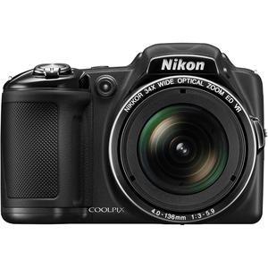 Puolijärjestelmäkamera Nikon Coolpix L830 - Musta + Objektiivi Nikon 22.5–765 mm f/3–5.9 ED VR