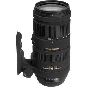 Objectif Sigma dg 120-400mm 1:4.5-5.6 apo hsm