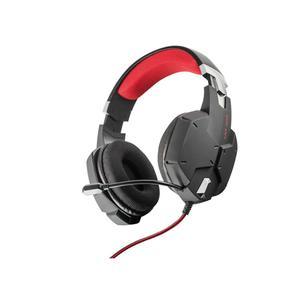 Trust GXT 322 Koptelefoon Gaming Microfoon - Zwart/Rood