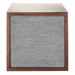 Enceinte Bluetooth Tivoli Audio Cube - Marron/Gris