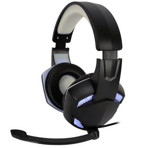 Casque Gaming avec Micro Amstrad Basic AMS H555 - Noir/Blanc