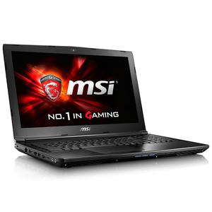 "MSI GL62 6QF-1243XFR 15"" Core i7 2,6 GHz - SSD 512 GB - 8GB - NVIDIA GeForce GTX 960M AZERTY - Frans"