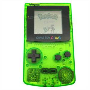 Portable Konsole Nintendo Game Boy Color - Grün Transparent