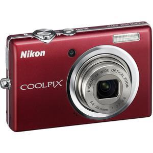 Cámara compacta Nikon Coolpix S570 - Rojo + lente Nikon Nikkor Wide Optical Zoom 28-140 mm f/2.7-6.6