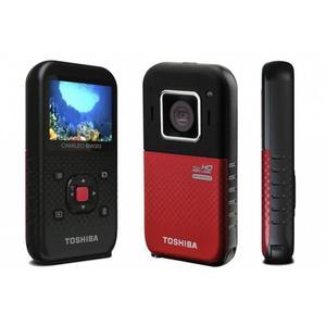Caméscope De Poche Toshiba Camiléo BW20 - Noir/Rouge
