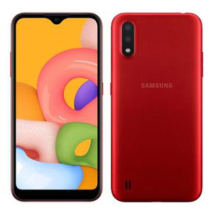 Galaxy A01 32GB - Punainen - Lukitsematon