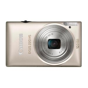 Compact Canon Ixus 220 HS - Hopea + Objektiivi Canon 24-120mm f/2.7-5.9