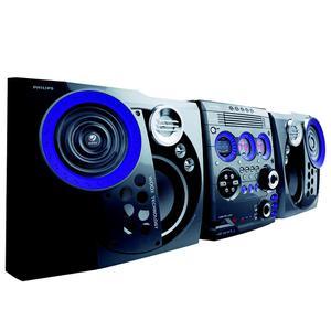 Chaine Hi-Fi Philips FW-M777 - Gris/Bleu