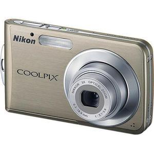 Compact - Nikon Coolpix S210 - marron + Objectif Zoom optique Nikkor 3 x 6.3 - 18.9 mm - f/3.1-5.9