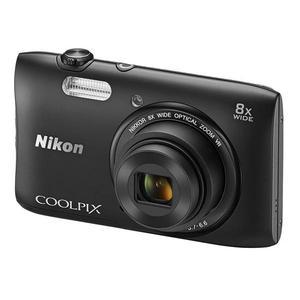 Compact Nikon Coolpix S5300 - Musta + Objektiivi Nikon 25-200mm f/3.7-6.6