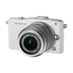 Olympus PEN E-PM1 blanco + lente 14-42mm