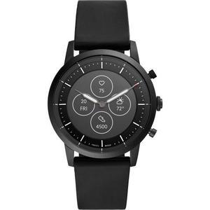 Horloges Cardio Fossil HR Collider Q FTW7010 - Zwart