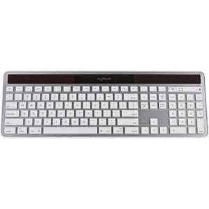 Logitech Tastatur QWERTZ Schweizerisch Wireless K750