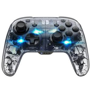 Controller PDP Afterglow Wireless Deluxe per Nintendo - Transparente