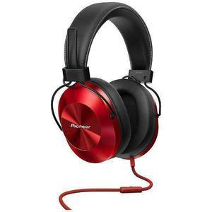 Casque Réducteur de Bruit avec Micro Pioneer SE-MS5T - Rouge/Noir