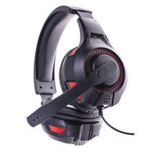 Casque Gaming avec Micro Freaks And Geeks SWX-300 - Noir/Rouge