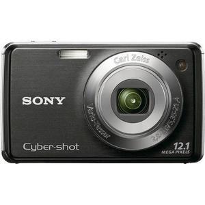 Sony Cyber-shot DSC-W220B -kompaktikamera - Musta + Carl Zeiss Vario-Tessar 30-120 mm f/2.8-5.8 -objektiivi