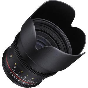 Samyang 50mm f/1.8 T1.5 VDSLR compatible avec Canon EF