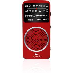Taschenradio Sytech SY1675RJ - Rot