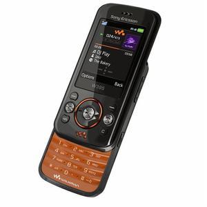Sony Ericsson W395 - Schwarz/Orange- Ohne Vertrag