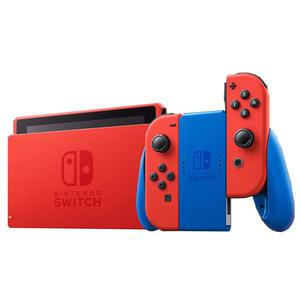Console Nintendo Switch : Edition Mario - Rouge/Bleu