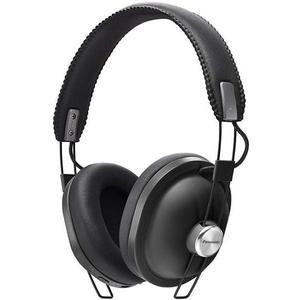 Kopfhörer Bluetooth mit Mikrophon Panasonic RP-HTX80B - Schwarz